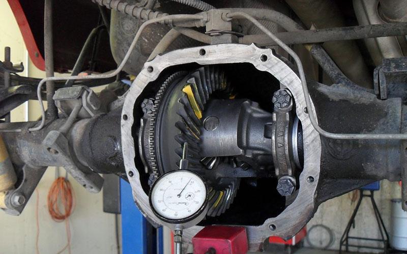Differential Repair & Replacement – Navarra Truck